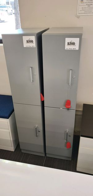 Gray metal lockers with key for Sale in Aurora, CO