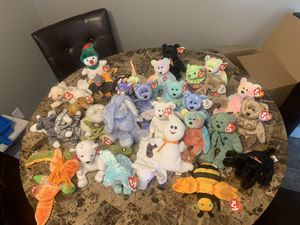 Beanie babies (mostly 90's) for Sale in Milwaukie, OR