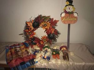!!REDUCED!! Fall Decorations Lot- WAS $25 NOW $15 for all for Sale in Paducah, KY