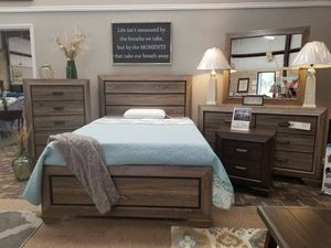 Grey wash 4 pc bedset queen 😷🎈🎈🇺🇸 for Sale in Fresno, CA