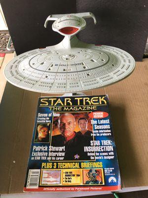 STAR TREK ENTERPRISE NCC-1701-D / MAGAZINE COLLECTABLE for Sale in Fresno, CA