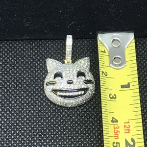 Diamond Emoji medallion , Pendant ,charms,iced out piece bustin' piece, charm , medallion for Sale in Los Angeles, CA