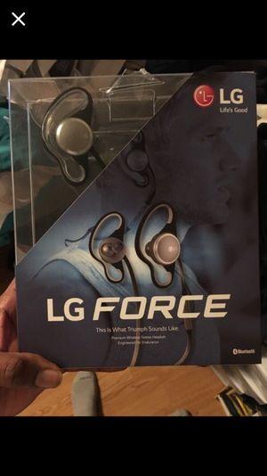 Lg force Bluetooth wireless headset for Sale in Philadelphia, PA