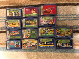 Leapster leap frog games for Sale in Rockwall, TX