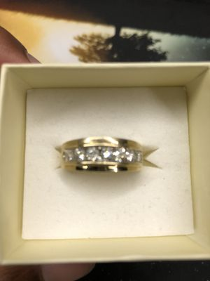 Real Gold Diamond Ring for Sale in New Haven, CT