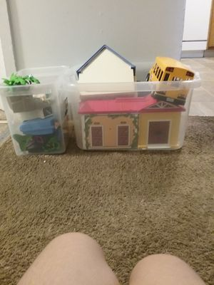 Playmobile lot very good condition gently used for Sale in Bellingham, MA
