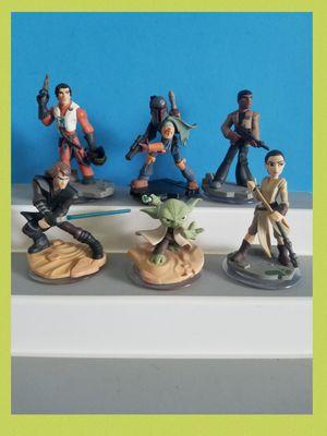 Disney Infinity Star wars figures lot of 6 for Sale in Sanford, FL