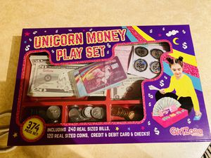 Unicorn Money Play Set for Sale in Allen, TX