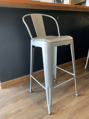 Tall metal chairs bar stool for Sale in Gig Harbor, WA