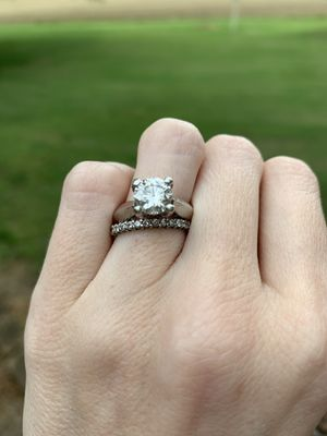 Engagement Ring / Wedding band set for Sale in Holly Springs, NC