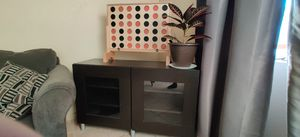 IKEA Brand TV stand with 3 shelves for storage for Sale in Las Vegas, NV