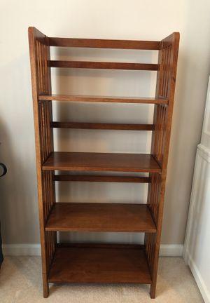 Brown Book Shelf for Sale in Haymarket, VA