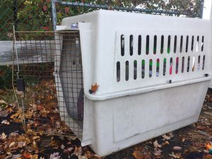 Large dog crate / kennel for Sale in Carver, MA