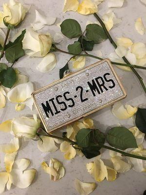 Crystal Embellished Wedding/ Bride Clutch for Sale in McKinney, TX