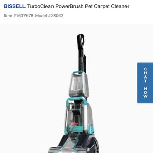 Bissel Carpet Cleaner for Sale in Dallas, TX