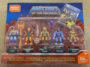 Masters of the universe mega construx battle for eternia brand new for Sale in Woodridge, IL
