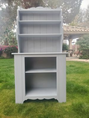Cute shelving, entry table, kitchen china cabinet, display, bathroom storage space for Sale in Tempe, AZ