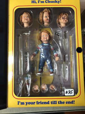 "Ultimate Chucky Good Guys Child's Play NECA Reel Toys 4"" Inch Action Figure for Sale in La Habra Heights, CA"