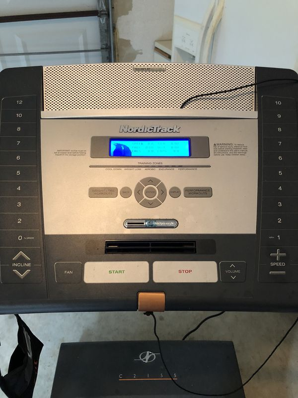 NordicTrack treadmill. No issues!!! Has all the extra bells and whistles