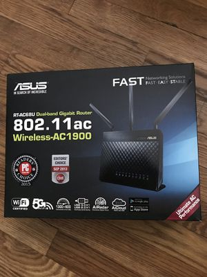 ASUS ac1900 wireless router for Sale in Newark, NJ