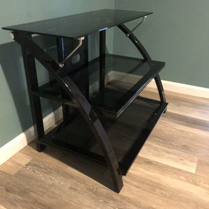 Black Glass TV Stand for Sale in Lancaster, PA