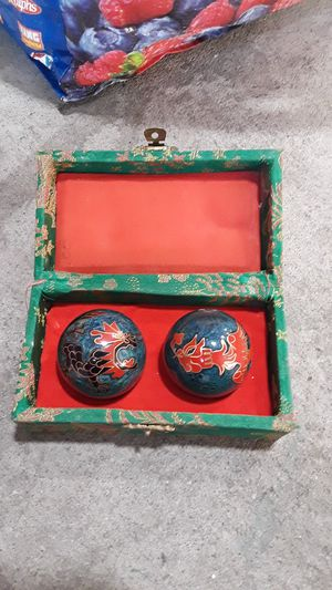 Chinese baoding balls, used for hand/wrist/forearm exercise(therapy) for Sale in Pueblo, CO