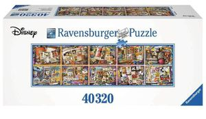 Puzzle Disney Mickey Mouse 90 years 40320 pieces Ravensburger game for Sale in Fulshear, TX