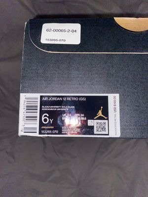 Jordan retro 12 university gold and black for Sale in Temecula, CA