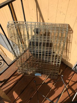 Gold Dog Gate/ Play Pen for Sale in Portland, OR
