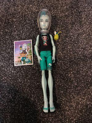 Monster High Skull Shores Gil Webber Doll for Sale for sale  Chandler, AZ