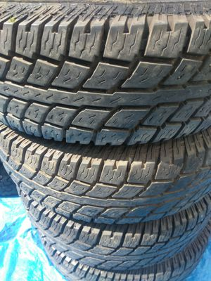LT235-75-15 set of 4 Cooper tires 235 75 15 for Sale in Snohomish, WA