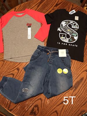 New boys clothes 5T for Sale in Long Beach, CA