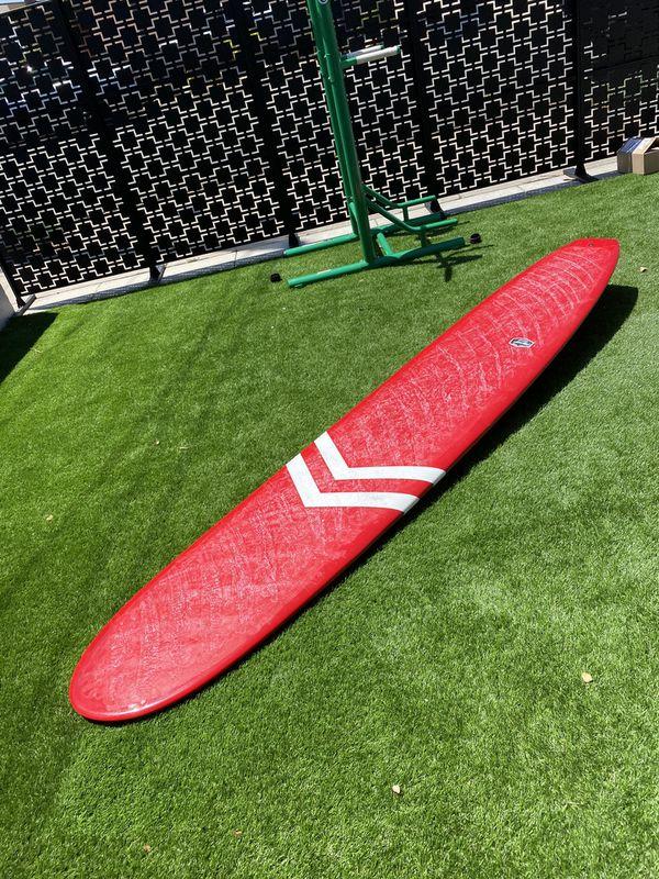 CJ Nelson classic 10'0 surfboard