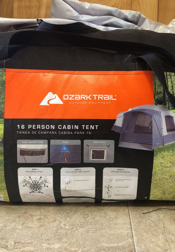 16 person ⛺️ tent for sale