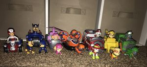 paw patrol toys for Sale in Odessa, TX