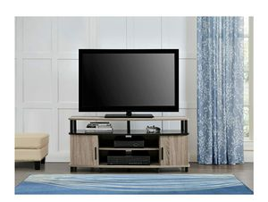 Ameriwood Home Carson TV Stand for 50-Inch TVs (Sonoma Oak for Sale in Alexandria, VA