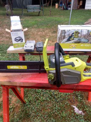 """Su Joe 14 v 16"""" cordless chainsaw for Sale in Berwick, PA"""