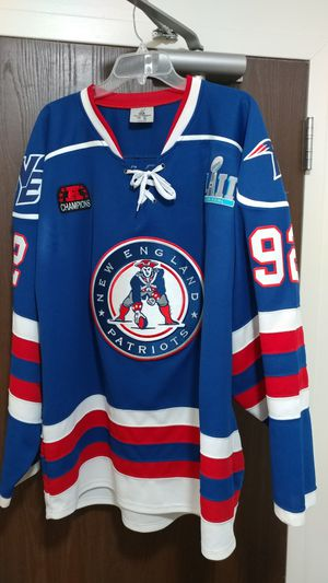 Patriots Hockey Jersey XL for Sale in Boston, MA