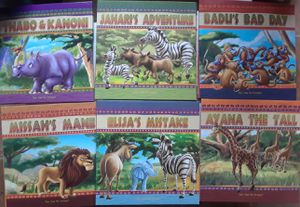 6 STORYBOOKS with READ-ALONG DVD &CD for Sale in Milpitas, CA