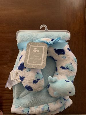 Baby blanket with neck pillow for Sale in Phoenix, AZ