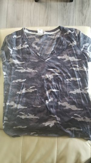 Pink grey camo shirt for Sale in Houston, TX