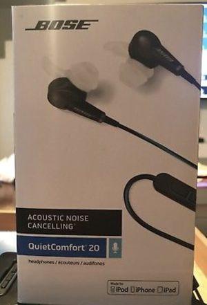 Bose qc20 earphones for Sale in Tampa, FL
