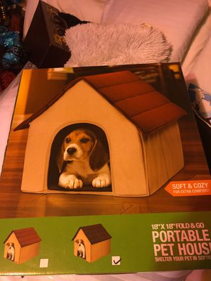Comfy Dog or Cat house portable for Sale in Virginia Beach, VA