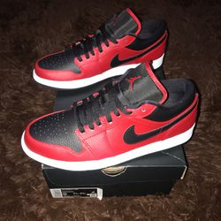Air Jordan 1 Low Red Men's Size 9 for Sale in Canyon Country,  CA
