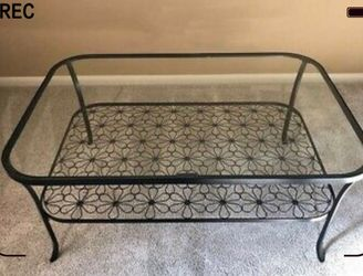Ikea glass coffee table for Sale in Beaverton,  OR