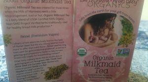 Milkmaid tea for breastmilk for Sale in Salt Lake City, UT
