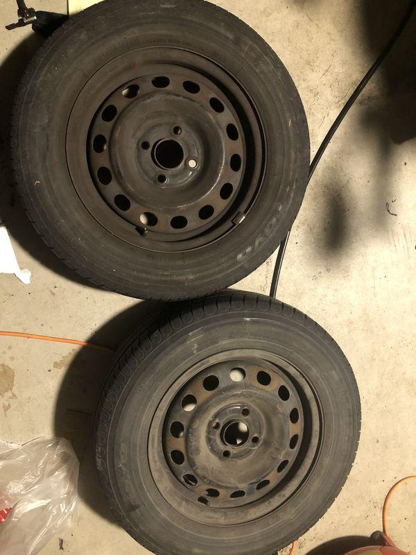 4 Honda Civic Wheel and tires