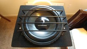 "Diamond Audio TDX/D9/HEX PRO 12"" Subwoofer (Old-school/Rare) for Sale in Lake Stevens, WA"