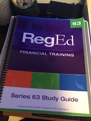 Series 63 license RegEd 2015 edition. Free till December 24. On hold for Sale in Chicago, IL