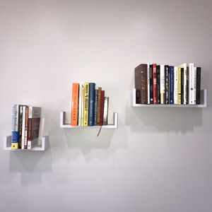 White Wall Floating Shelves for Sale in Los Angeles, CA